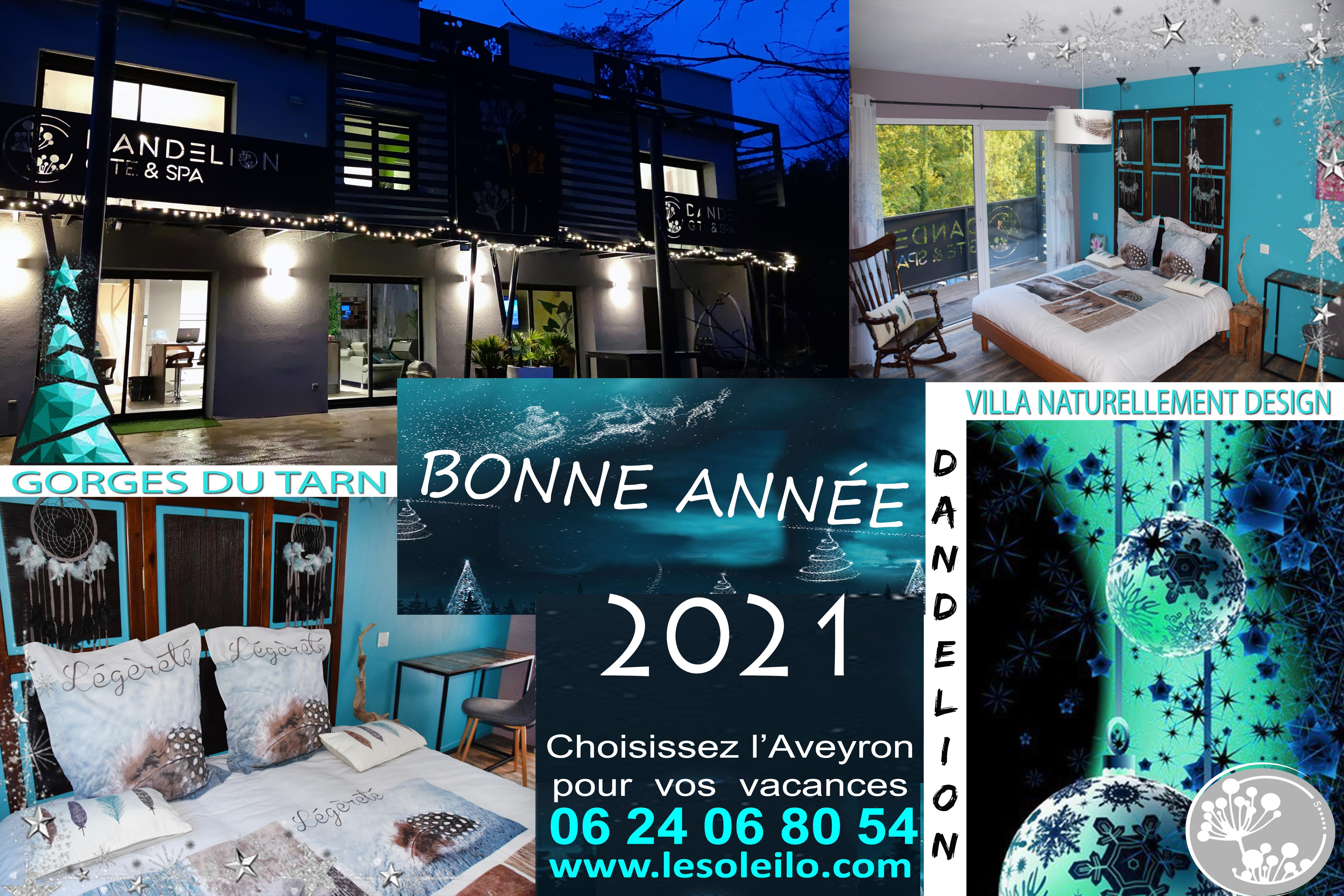 wishes 2021 Dandelion cottage with swimming pool jacuzzi and Aqua Soleil Eau canoeing Tarn Gorges
